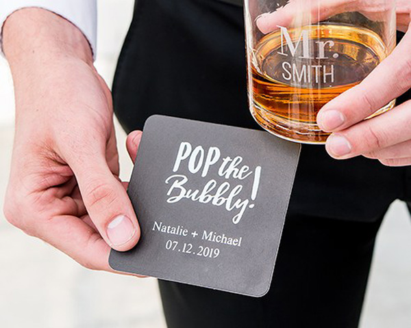 personalised coaster print