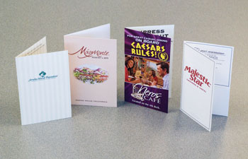 restaurant key cards