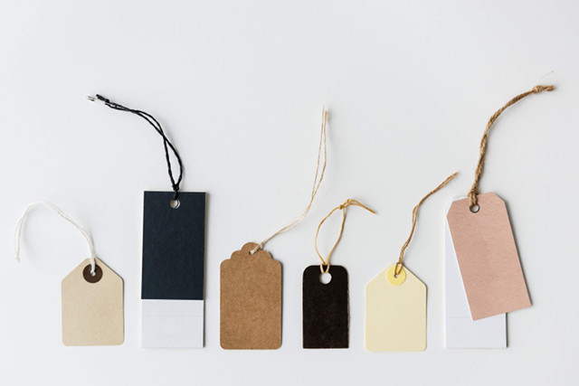 Swing tags and die cut hang tags