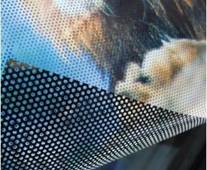 window contra vision film